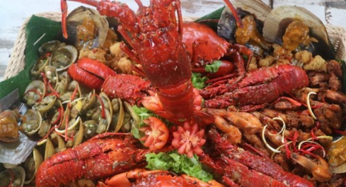 Nasi Goreng Seafood Kalimantan Dibanderol Rp 1,7 Juta